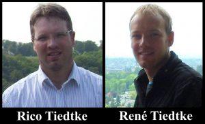 Rico Tiedtke und René Tiedtke